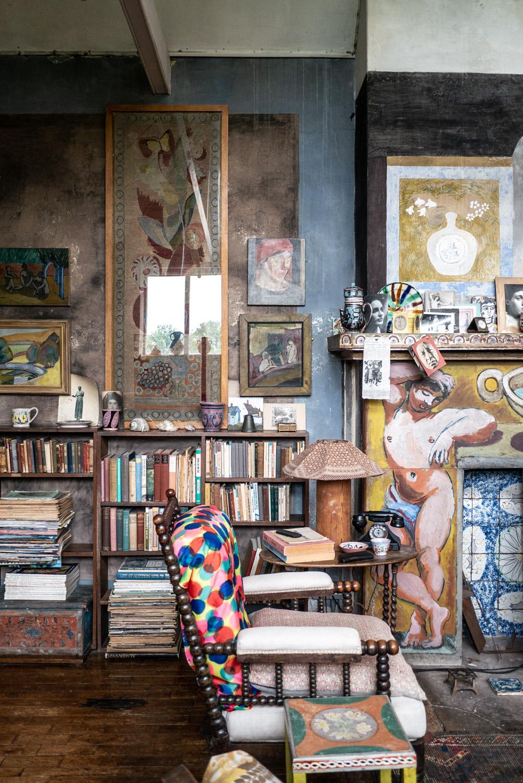 Charleston house and garden, the art of living